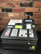 Sharp Xe-a23s Cash Register No Key, No Manual Does Function/work