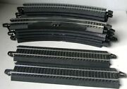 Bachmann Ez Track 12pcs-r18 Curve And 2pcs-straight And Power-cord - Ho   42