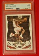 Lebron James 2004 Topps 1st Edition Sp 2nd Year Psa 9 Mint Hof Lakers