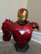 Iron Man - Mark Vi Legendary Scale™ Bust By Sideshow Collectibles. 358/3000