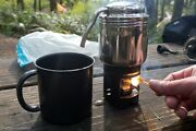 [esbit] Stainless Steel Coffee Maker / Outdoor Coffee Maker Stove / Solid Fuel
