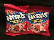 Brand New Nerds Gummy Clusters Candy- {lot Of 2 Bags} Fast, Free Shipping