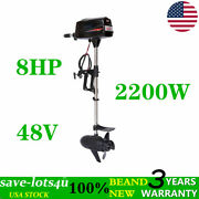 Electric Outboard Motor Fishing Boat Engine Brushless 2.2kw Tiller Control