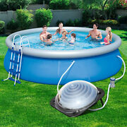 Black Outdoor Solar Dome Inground And Above Ground Swimming Pool Water Heater Sale