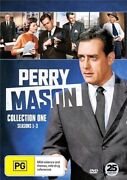 Perry Mason Collection 1 Dvd   Season 1, 2 And 3   Region 4