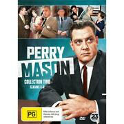 Perry Mason Collection 2   Season 4, 5 And 6 Dvd   Region 4