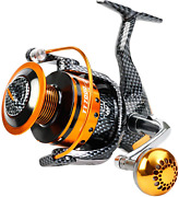 Burning Shark Fishing Reels- 12+1 Bb Light And Smooth Spinning Reels Powerful
