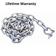 Marpac 7-1530 Boat Anchor Chain Stainless Steel 3/8 X 6and039 W/ Shackles