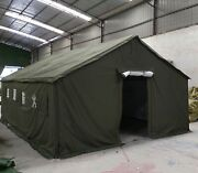 Pro Walkers Waterproof Four Seasons Canvas Army Military Tent New