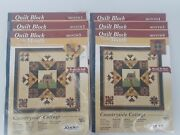 Quilt Block Of The Month Kit Countryside Cottage Joann Fabrics 2004-05 Limited