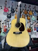 Martin Hd12-28 12-string Acoustic Guitar - Natural Auth Dealer Free Ship 064