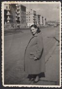 Yz2131 Rome - Monteverde - View - Photography Period - 1950 Vintage Photo