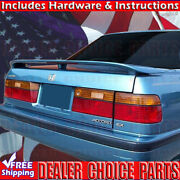 1986 1987 1988 1989-1993 Honda Accord Factory Style Spoiler Wing W/led Unpainted