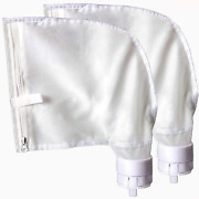 2 All-purpose Filter Bags For Polaris 360 380 Pool Cleaner Catcher