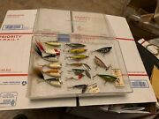 Vintage Old Weber Fishing Lure Lot All Exe Or Better