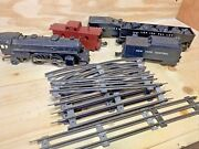 Lionel Trains Rare Set 1062 With 4 Cars And Track