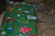 New Disney Store Print Sundress Womenand039s Large Discontinued Green Print Flowers