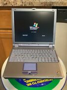 Sony Vaio Notebook Laptop Computer Pcg-632l And Docking Station Pcga-dsm5