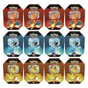 Pokemon Tcg Hidden Fates Case Of Qty 12 X Tins New In Hand
