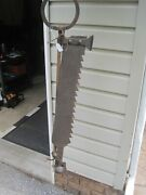 Antique 1700and039s Wrought Iron Colonial Manor Trammel