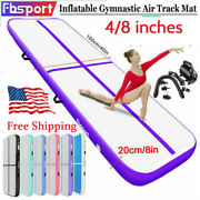 Fbsport Inflatable Gymnastics Air Track Training Tumbling Mat Gym+ Pump Usa