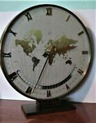 Kienzle Automatic World Time Zone Clock Germany Beautiful 11 Rare Make Offer