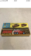 Vintage Corgi Major Toys Chipperfield's Circus Crane Truck And Cage No 12 Boxed