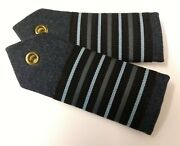 Genuine British Royal Air Force Issue Group Captain Shoulder Boards Asps167