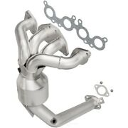 Exhaust Manifold With Integrated Catalytic Converter Front Fits 05-11 Xc90 4.4l