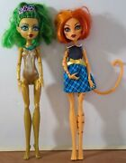 Monster High - 2 Doll Lot - Used
