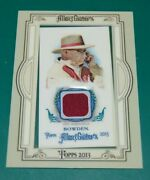 2013 Topps Allen And Ginter Bobby Bowden Used Memorabilia Relic Florida State