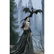 The Ruins Dragon Witch Artist Nene Thomas New Gothic Warrior Jigsaw Puzzle Rare