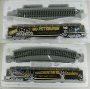Hawthorne Village Ho Pittsburgh Steelers Victory Train 15 Different Pieces