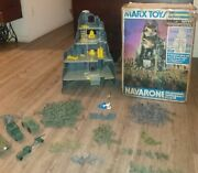 Vintage Mt.navarone Army Playsets By Marx Toy Company