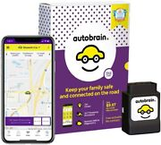 Autobrain Gps Tracker For Vehicles Cars Trucks 1 Yr Data Plan Obdii Real Time
