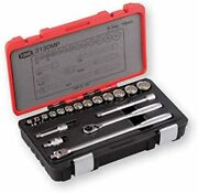 Tone Socket Wrench Set 3130mp 9.5mm 3/8 Contents 18points Made In Japan New