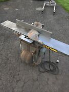 8 Inch Long Bed Delta Rockwell Jointer Planer Art Deco Cast Iron Base