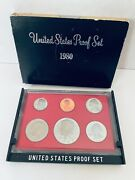 1980 S Us Proof Set 6 Coins United States Treasury Mint Sealed Package Nos