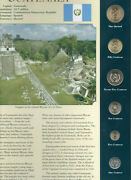 Coins From Around The World Guatemala 6 Coin Set 1999-2006 Bu Unc 1 Quetzal 2006