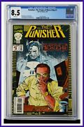 Punisher The Origin Of Micro Chip 1 Cgc Graded 8.5 Marvel July 1993 Comic Book.