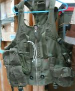 Raf Aircrew Survival Load Carring Vests Good Used Condition All Straps Fitted