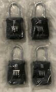 4 Lion 2100 Hanging Lock Box Padlock Alpha Style Key Safe Lot New Locks Realtor