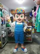 Oem Diy Festival Party Cocomelon Tomtom Boy Mascot Costume All Size Cosplay