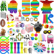 1-120pack Fidget Sensory Toy Set Stress Relief Anxiety Toy Kids Autism Relief Us