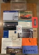 1988 Mercedes Benz 560sl Owners Manual Set Rare R107 Complete 2