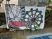100th Aniversary Of The Ferris Wheel Flag 1893-1993 Very Rare New Never Flown