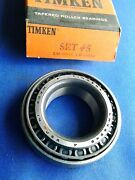 Nors Timken Bearing Assembly Set 5 Lm-48548 Lm-48510 Ref. A-5 Usa Made