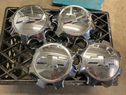 Chevy Silverado 2500 2011-2018 3500 2011-2015 Chrome Center Caps - Set 4 - Oem