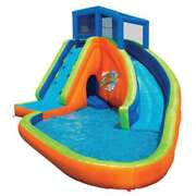 Banzai Sidewinder Falls Inflatable Water Park Pool Open Box 6 Pack