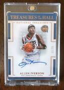 Allen Iverson Limited To 25 Direct Writing Signs